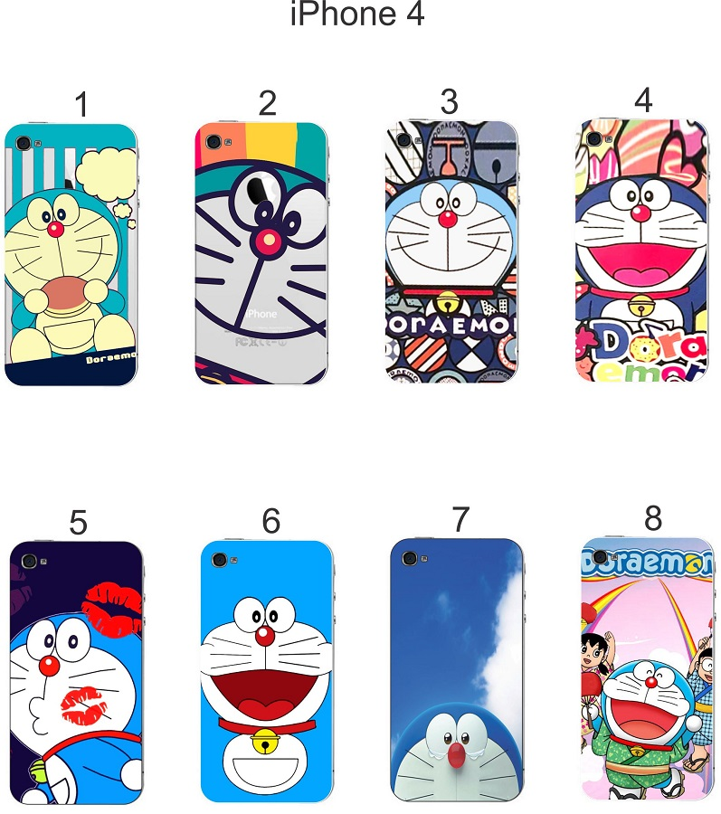 Ốp lưng iPhone 4 in hình Doraemon