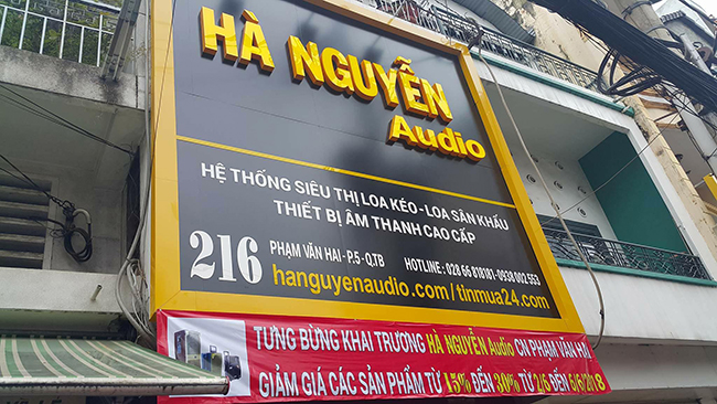 showroom HaNguyenAudio