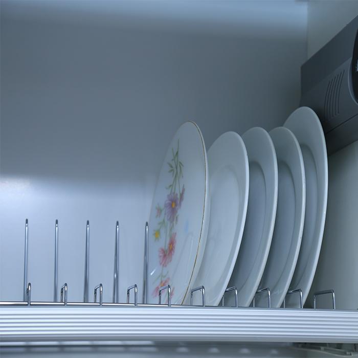 Giá -để- bát -đĩa- cao- cấp - Phụ -kiện- tủ -bếp- EUROGOLD
