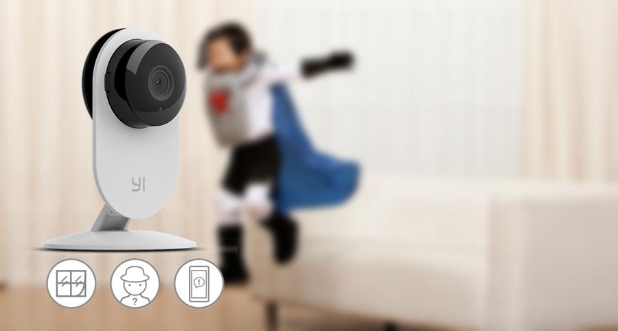 Camera IP thông minh Xiaomi Yi HD 720P (Bản Ngày và Đêm - Night Edition)