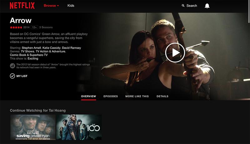 Chia Sẻ ] Netflix - truyền hình trực tuyến đã có bản crack free