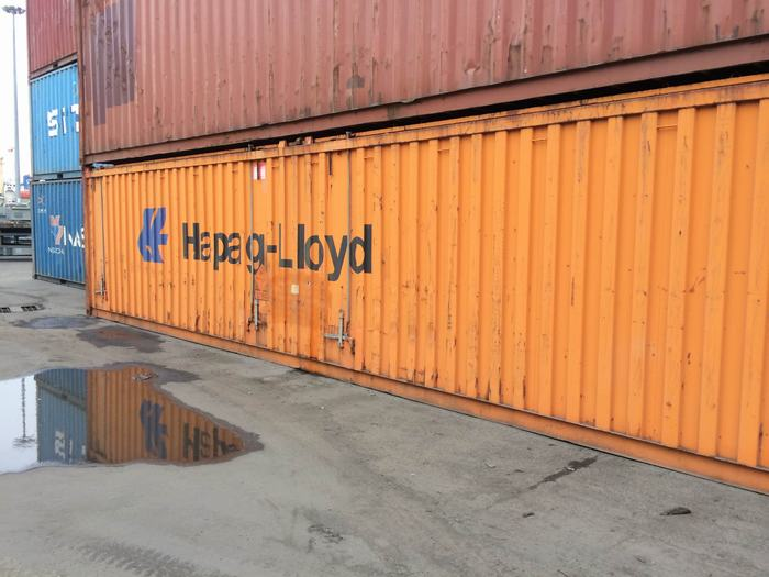 Container 45 feet mở nóc