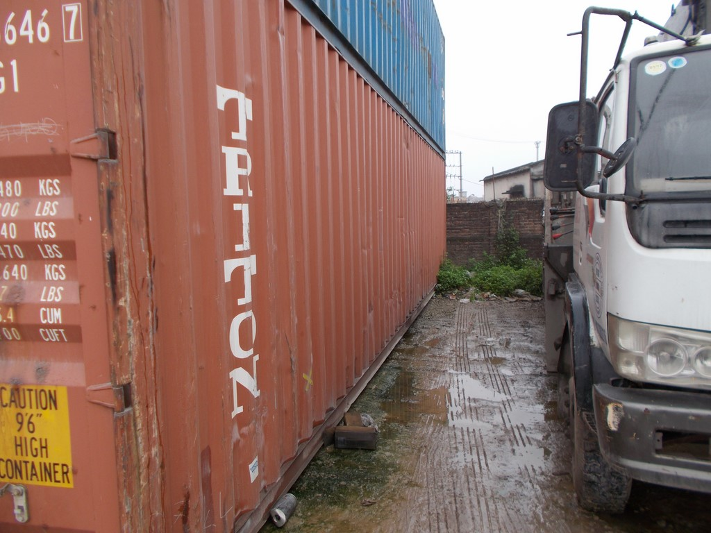 Container tritton cũ