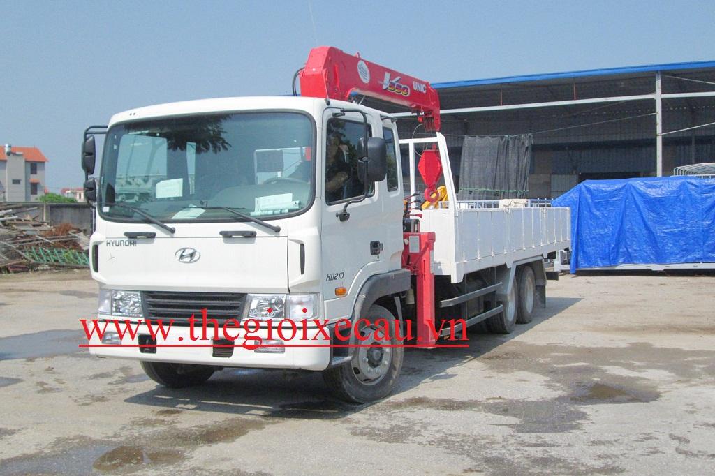 Bán xe cẩu thùng 5 tấn Unic- Hyundai