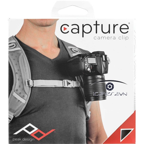 Capture Camera clip with Standard plate Gá gài máy ảnh tiện dụng by Peakdesign
