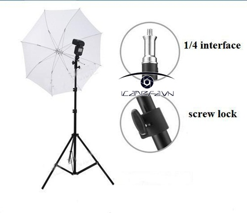 Chân đèn studio chuyên nghiệp light stand 2m LSG-020