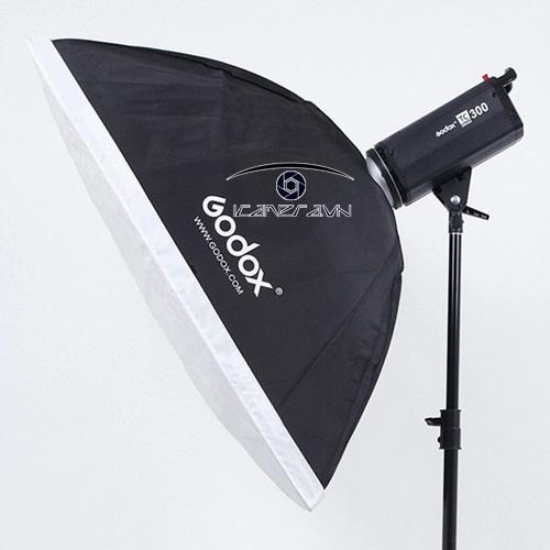 Softbox lồng tản sáng Godox 60x90 cm set up ánh sáng studio