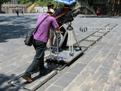 Ray trượt hỗ trợ quay phim Heavy duty stainless Camera dolly track CR-01