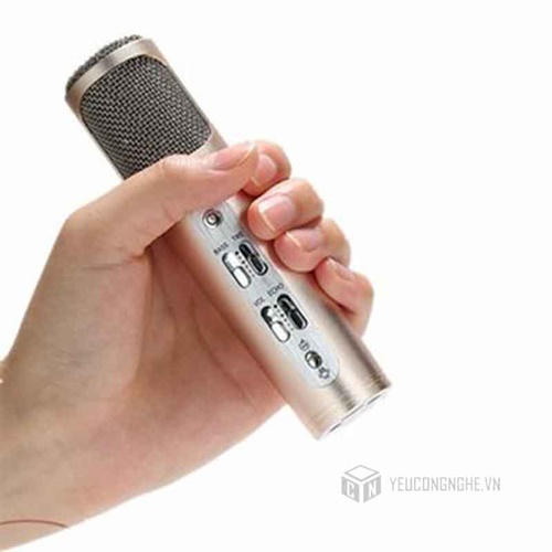 Microphone K02 cho điện thoại iOS, Android, PC, Recorder Remax