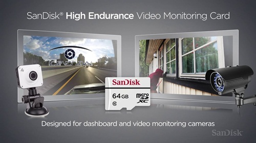 Thẻ nhớ Micro SD High Endurance Video Monitoring Card 64GB 20MB/s cho CCTV camera kèm Adapter