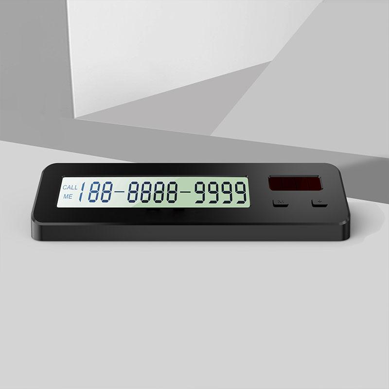 Thẻ số điện thoại trên xe hơi sử dụng năng lượng mặt trời T68