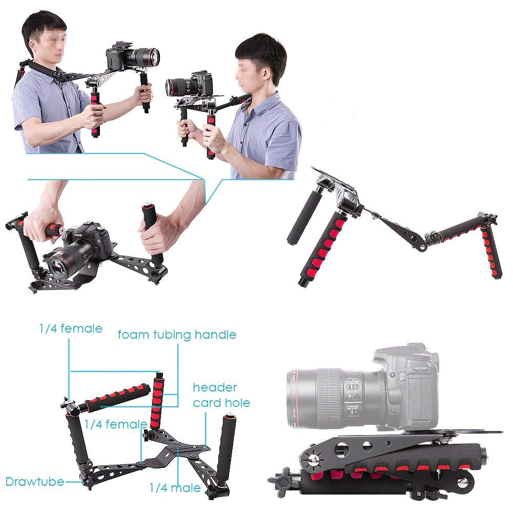 DSLR Rig Movie Kit Shoulder Mount hỗ trợ quay phim RS-001