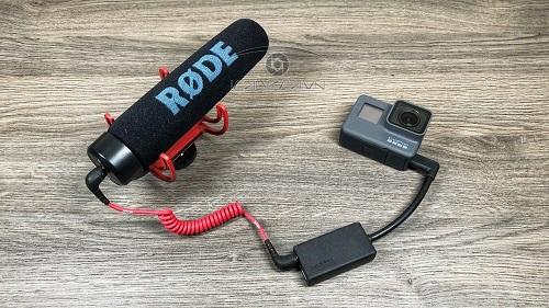 Mic Adapter chuyển tín hiệu cho Gopro Hero 5/6/7 Type-C sang 3.5mm chính hãng