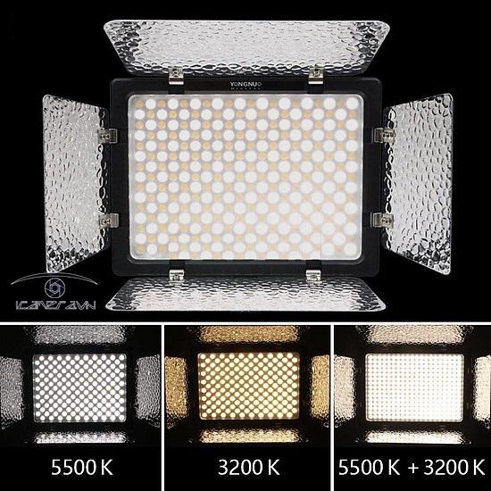 Đèn LED quay phim chuyên nghiệp Yongnuo YN300-III thế hệ mới
