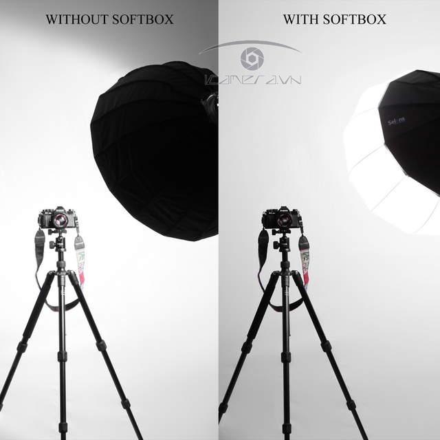 Softbox tản sáng hình cầu đường kính 85cm - Softbox Chinaball LIFE