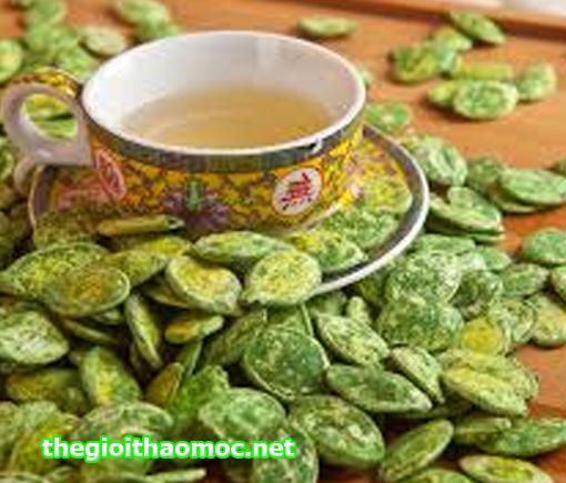 Hạt bí ướp trà xanh