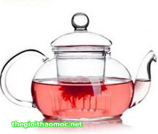 ấm trà thủy tinh 600ml