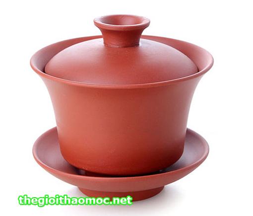 Chung trà đất màu đỏ