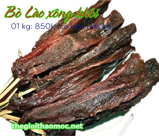 Bò Lào xông khói