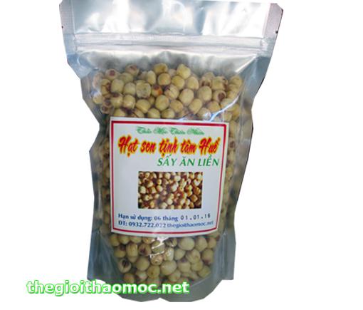 Hạt sen Huế sấy khô ăn liền