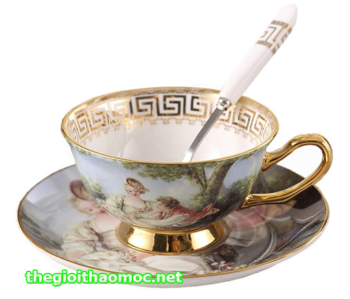 tách uống trà anh