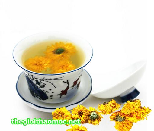 Tách trà Hoàng cúc
