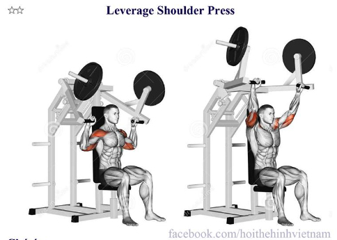 Leverage Shoulder Press