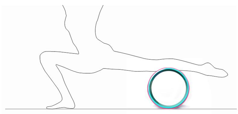 Bài tập lăn vùng chân