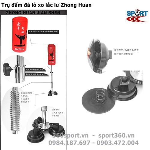 Trụ đấm đá lò xo lắc lư Zhong Huan