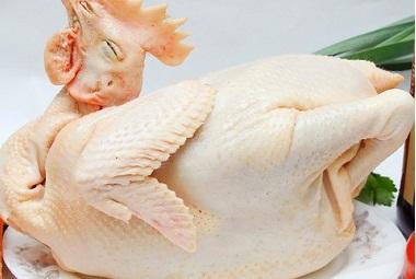 Gà nguyên đầu, gà dai nguyên con có đầu - Thực phẩm Việt Nam