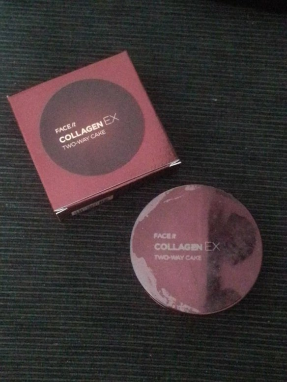Face it Collagen EX Two way cake NB23