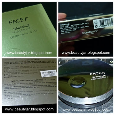 Phấn phủ Face It Radiance Pact