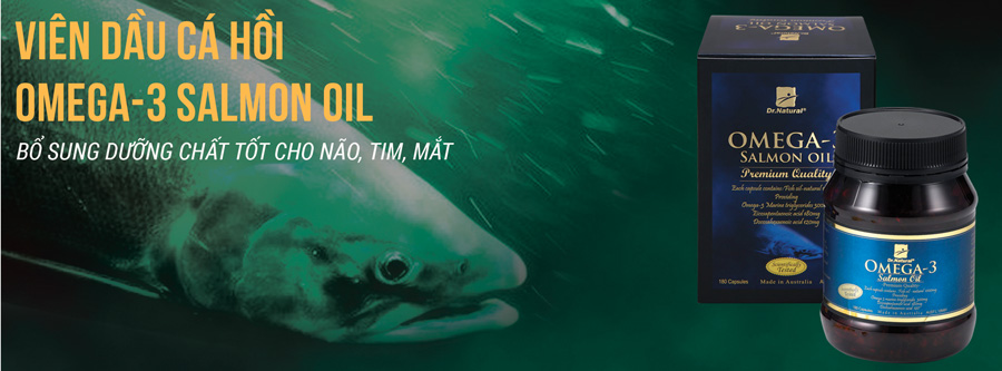 Dau ca hoi Omega 3 Salmon Oil