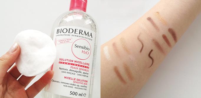 Nước tẩy trang Bioderma Sensibio H2O - Màu Hồng