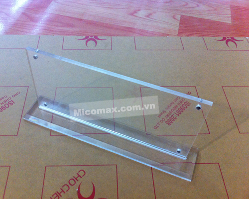 Kệ chức danh mica KCD-2407