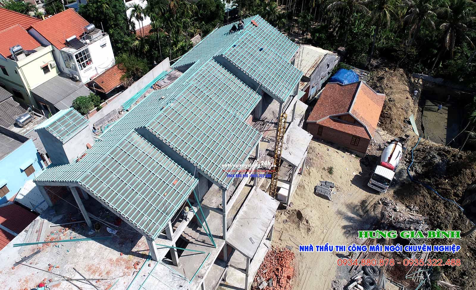 Hưng Gia Bình - Nhà thầu thi công lợp mái ngói chuyên nghiệp