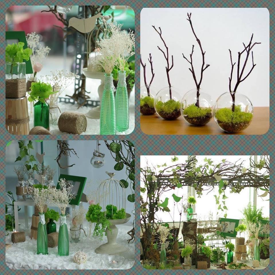 Kết quả hình ảnh cho trang trí tiệc cưới Phông cưới cùng tone theo phong cách tự nhiên