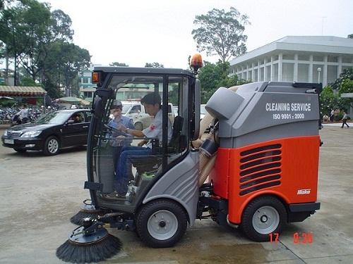 ICD | Địa chỉ cung cấp xe quét rác hút bụi đường chất lượng