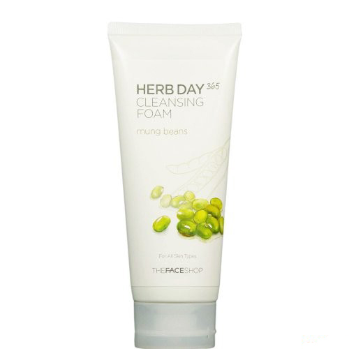 herb day cleansing foam Đậu xanh