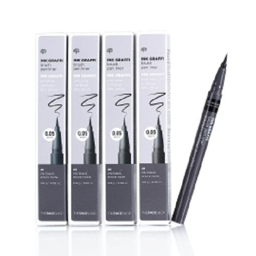 Kẻ mắt dạ The Face Shop  Ink Graffi Brush Pen Liner The Face Shop