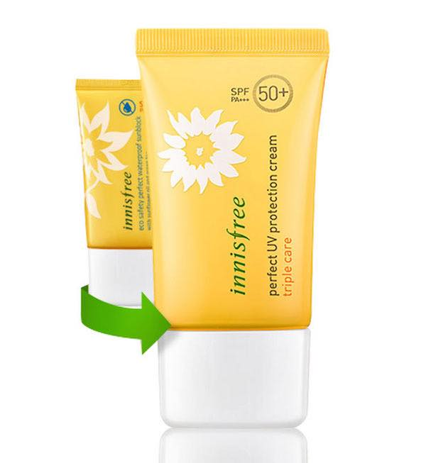 KEM CHỐNG NẮNG INNISFREE PERFECT UV PROTECTION CREAM TRIPLE CARE SPF50+PA+++