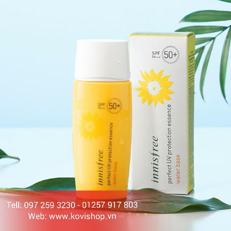Kem Chống nắng Innisfree PERFECT UV PROTECTION ESSENCE  WATER BASE SPF50+ PA+++