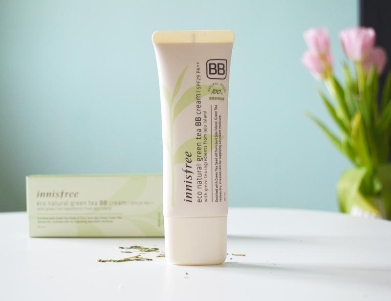 KEM NỀN TRÀ XANH INNISFREE- ECO NATURAL GREEN TEA BB CREAM SPF29 PA++