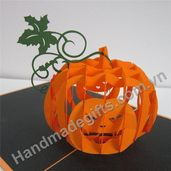 popup card 3d haloween