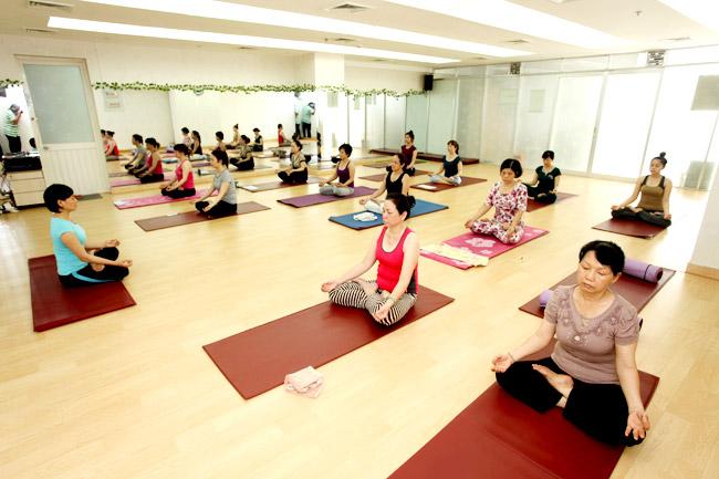 địa chỉ phòng tập yoga