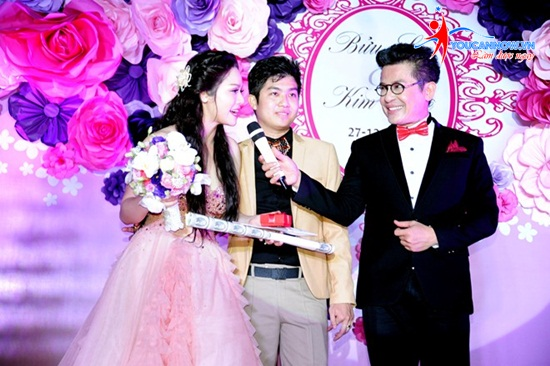 Khóa học MC tiệc cưới cuối tuần