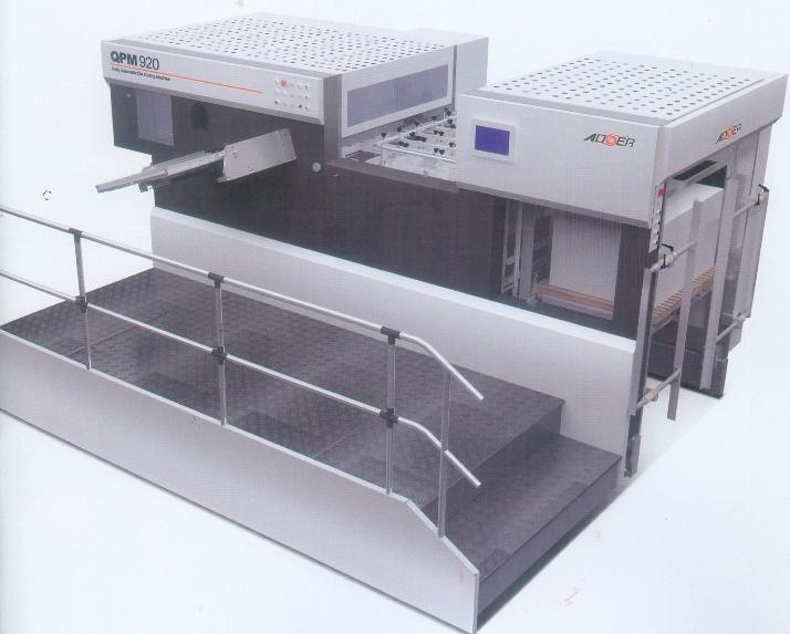 Máy bế hộp tự động QPM-920