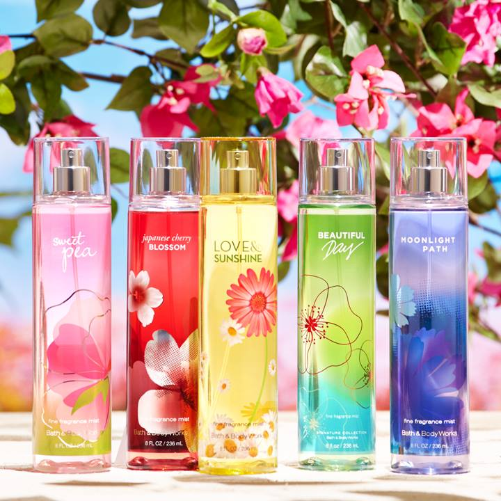Kết quả hình ảnh cho Bath & Body Works Fine Fragrance Mist