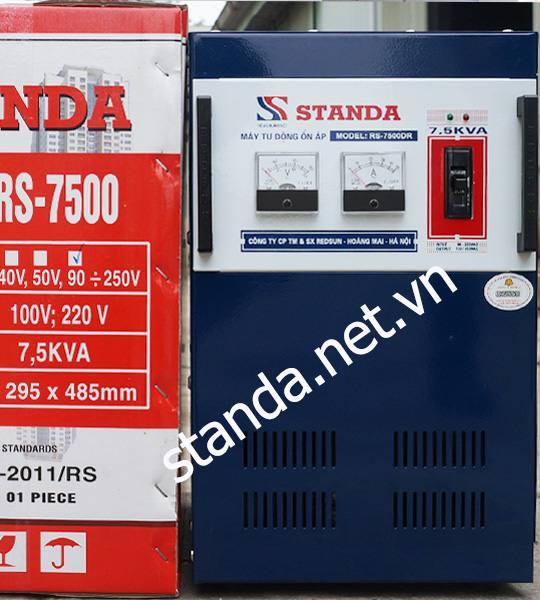 Standa 7,5kVA DR Dây Đồng 100%