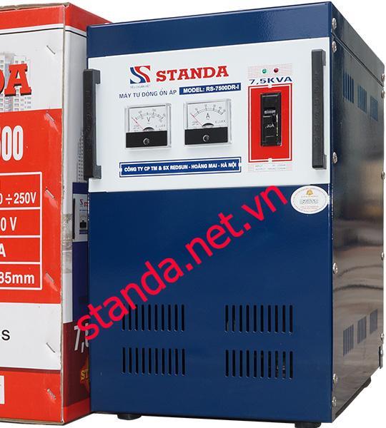 Ổn áp standa 7,5kva dải 90-250V giá bao nhiêu?